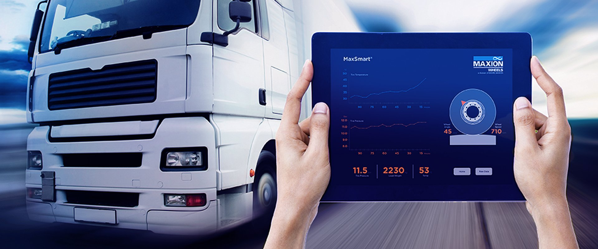 MaxSmart: digital data acquisition and control of wheels.
