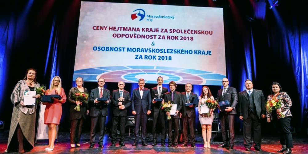 Maxion employees in the Czech Republic are honoured.