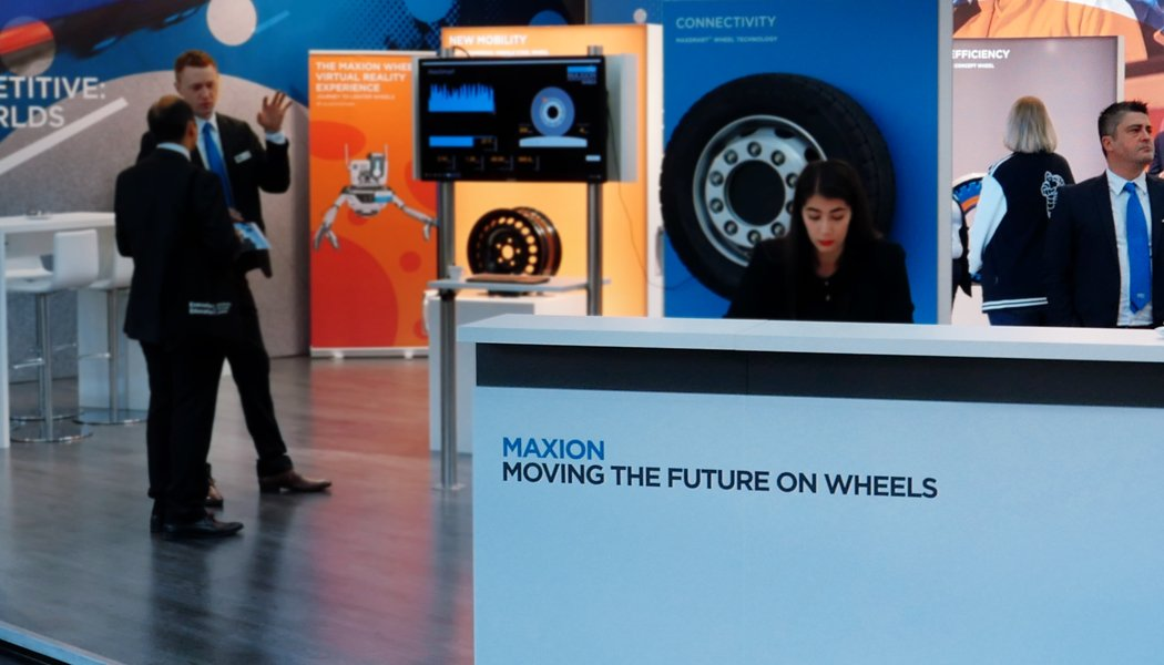 Maxion Wheels Exhibition Booth.